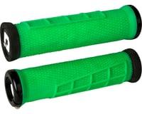 ODI Elite Flow Lock-On Grips (Retro Green/Black)
