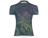 Primal Wear Women's Short Sleeve Jersey (Floral Sketch)