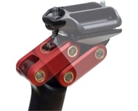 Redshift Sports Aluminum Dual-Position Seatpost (Black/Red)