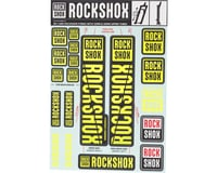 RockShox Decal Kit (30/32mm) (Yellow)