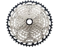 Shimano SLX CS-M7100 12-Speed Mirco-Spline Cassette (Silver/Black)