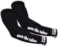 Sockguy Save The Tatas Arm Warmers (Black)