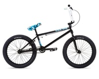 """Stolen 2021 Stereo 20"""" BMX Bike (20.75"""" Toptube) (Black/Swat Blue Camo)"""