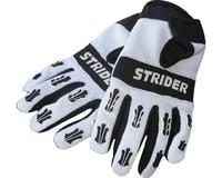 Strider Sports Adventure Riding Gloves (White/Black)