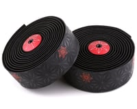 Supacaz Super Sticky Kush Handlebar Tape (Neon Red/Galaxy Black)