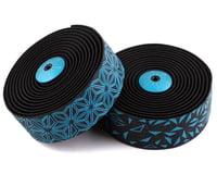 Supacaz Super Sticky Kush Handlebar Tape (Starfade Black & Blue)