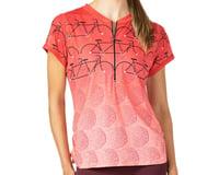 Terry Women's Wayfarer Short Sleeve Jersey (Gruppo Rouge)