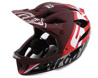 Troy Lee Designs Stage MIPS Helmet (Nova SRAM Burgundy)