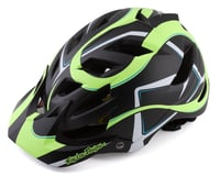 Troy Lee Designs A1 MIPS Youth Helmet (Welter Black/Green)