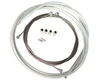 Velo Orange Metallic Braid Derailleur Cable Kit (Silver) (2)