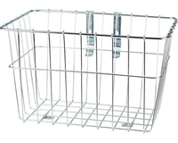 Wald 1352 Front Grocery Basket with Adjustable Legs (Silver)