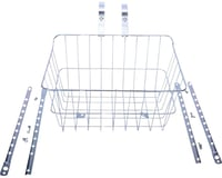 Wald 1512 Front Basket with Adjustable Legs (Silver)