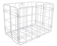 Wald Side-Mount Folding Rear Basket (White)