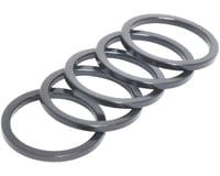 "Wheels Manufacturing 1"" Headset Spacer (Black) (5)"
