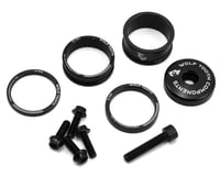 Wolf Tooth Components Headset Spacer BlingKit (Black) (3, 5, 10, 15mm)