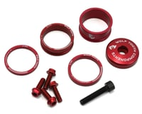 Wolf Tooth Components Headset Spacer BlingKit (Red) (3, 5, 10, 15mm)