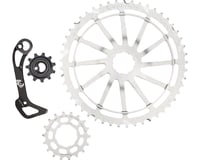 Wolf Tooth Components WolfCage Combo Pack (Silver) (49T Cog & 18T Cog)