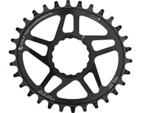 Wolf Tooth Components Elliptical CINCH Direct Mount Chainring (Black) (Boost)