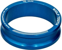"""Wolf Tooth Components 1-1/8"""" Headset Spacers (Blue) (5)"""