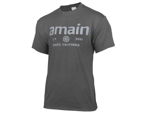 AMain Youth Short Sleeve T-Shirt (Charcoal) (Youth XS)