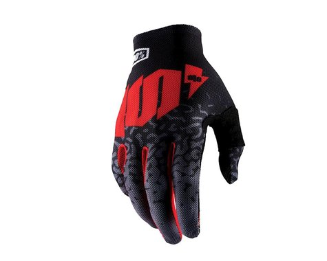 100% Celium II Full Finger Glove (Metal Black)