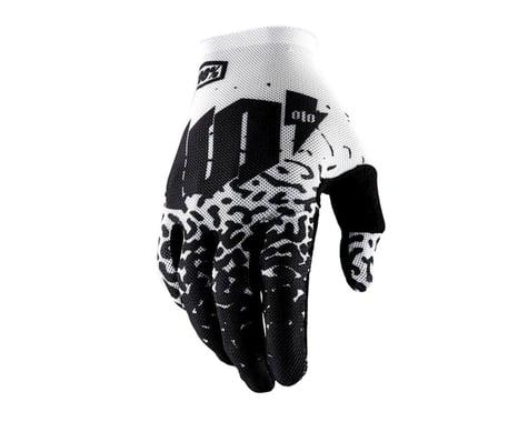 100% Celium II Full Finger Glove (Metal White)