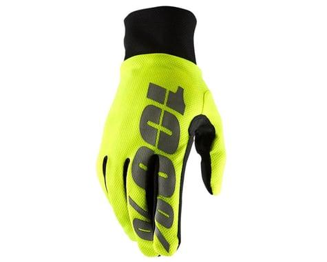 100% Hydromatic Waterproof Gloves (Neon Yellow) (S)