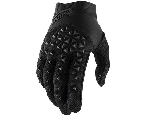 100% Airmatic Full Finger Glove (Black)