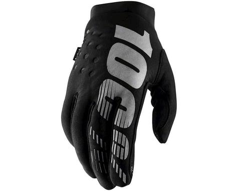 100% Brisker Gloves (Black) (S)