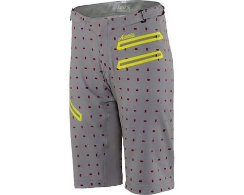 100% Airmatic Women's MTB Short (Grey/White)