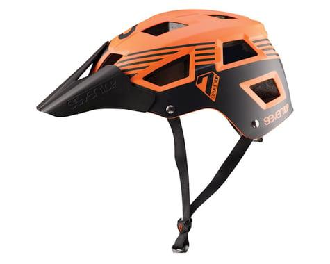 7iDP M-5 Helmet (Orange/Black)