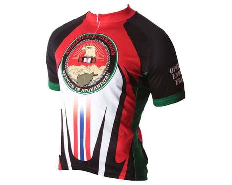 83 Sportswear Afghanistan OEF Short Sleeve Jersey (Red)