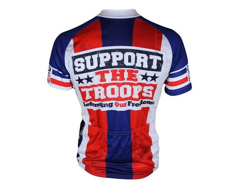 83 Sportswear Support The Troops Short Sleeve Jersey (Red)