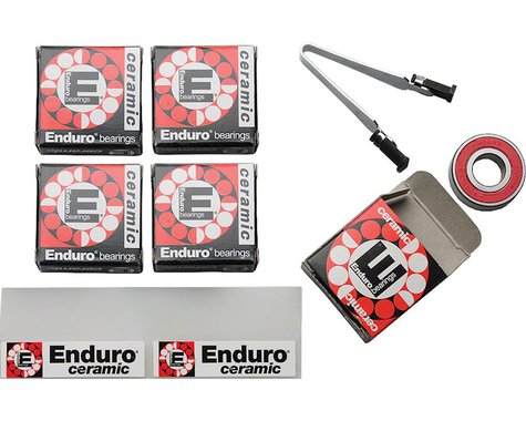 Enduro Ceramic Cartridge Bearing Kit (Mavic Ksyrium Elite/Equipe)