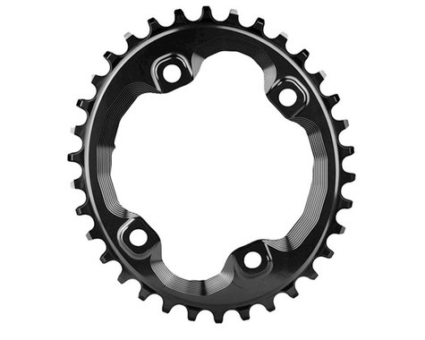 Absolute Black XT Asym Oval Chainring (Black) (96mm BCD) (Offset N/A) (30T)