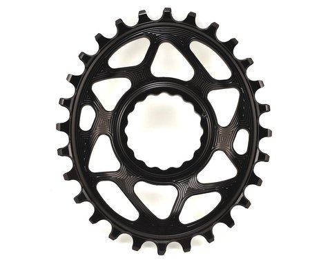 Absolute Black Direct Mount Race Face Cinch Oval Ring (Black) (6mm Offset) (28T)