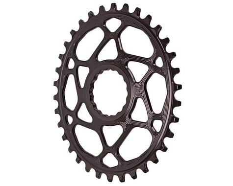 Absolute Black Direct Mount Race Face Cinch Oval Ring (Black) (Boost) (34T)