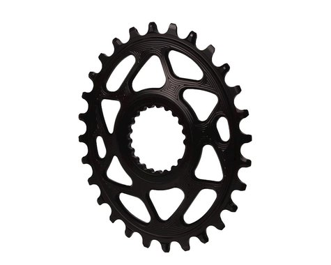 Absolute Black XTR M9100 Direct Mount Oval Chainring (Black) (3mm Offset (Boost)) (28T)