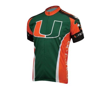 Adrenaline Promotions University of Miami Short Sleeve Jersey