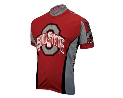 Adrenaline Promotions Ohio State Short Sleeve Jersey (Xxlarge)