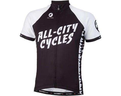 All-City Wangaaa! Men's Jersey (Black/White)