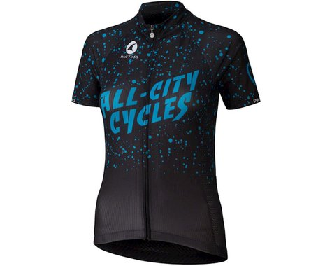 All-City Electric Boogaloo Women's Jersey (Black/Blue)