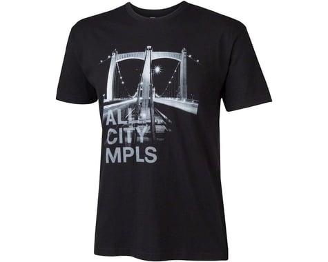 All-City Hennepin Bridge T-Shirt (Black)