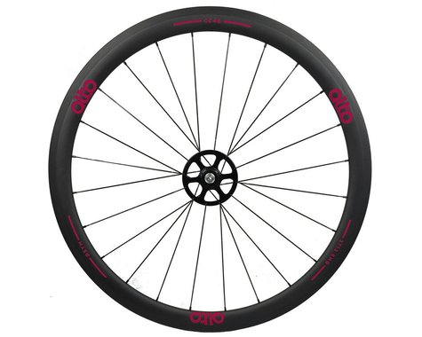Alto Wheels CT40 Carbon Rear Road Tubular Wheel (Pink)