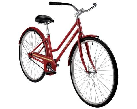 Americano One Women's Single-Speed City Bike (Maroon)