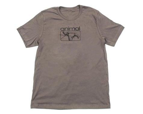 Animal Red Eye T-Shirt (Grey)