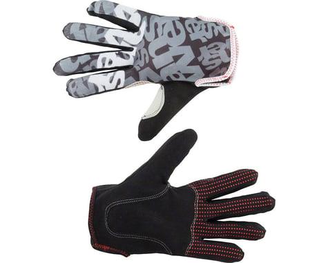 Answer Clash Full Finger Glove: Black/Gray XL