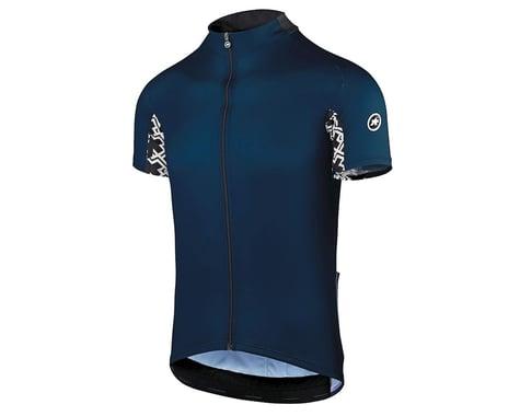 Assos Men's Mille GT Short Sleeve Jersey (Caleum Blue)