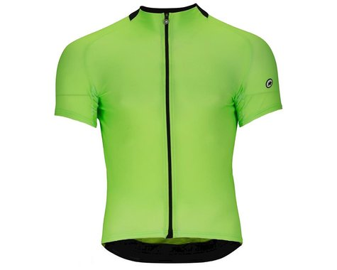 Assos Men's Mille GT Short Sleeve Jersey (Visibility Green) (M)
