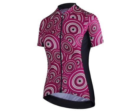 Assos Women's UMA GT Short Sleeve Jersey (Camou Midnight Purple)